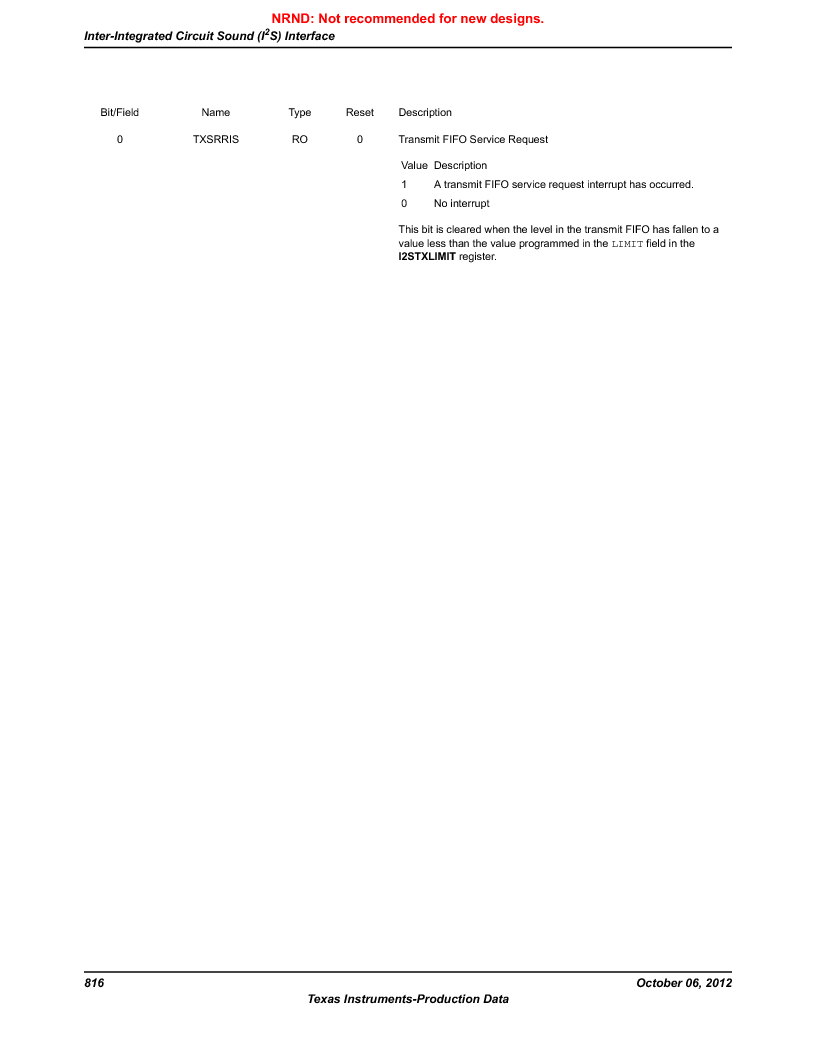 LM3S9G97 ,Texas Instruments厂商,Stellaris LM3S Microcontroller 108-NFBGA -40 to 85, LM3S9G97 datasheet预览  第816页