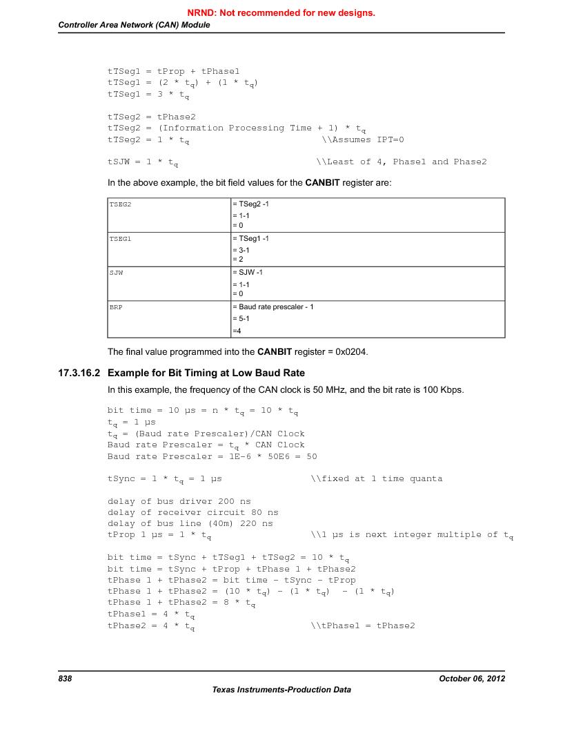 LM3S9G97 ,Texas Instruments厂商,Stellaris LM3S Microcontroller 108-NFBGA -40 to 85, LM3S9G97 datasheet预览  第838页