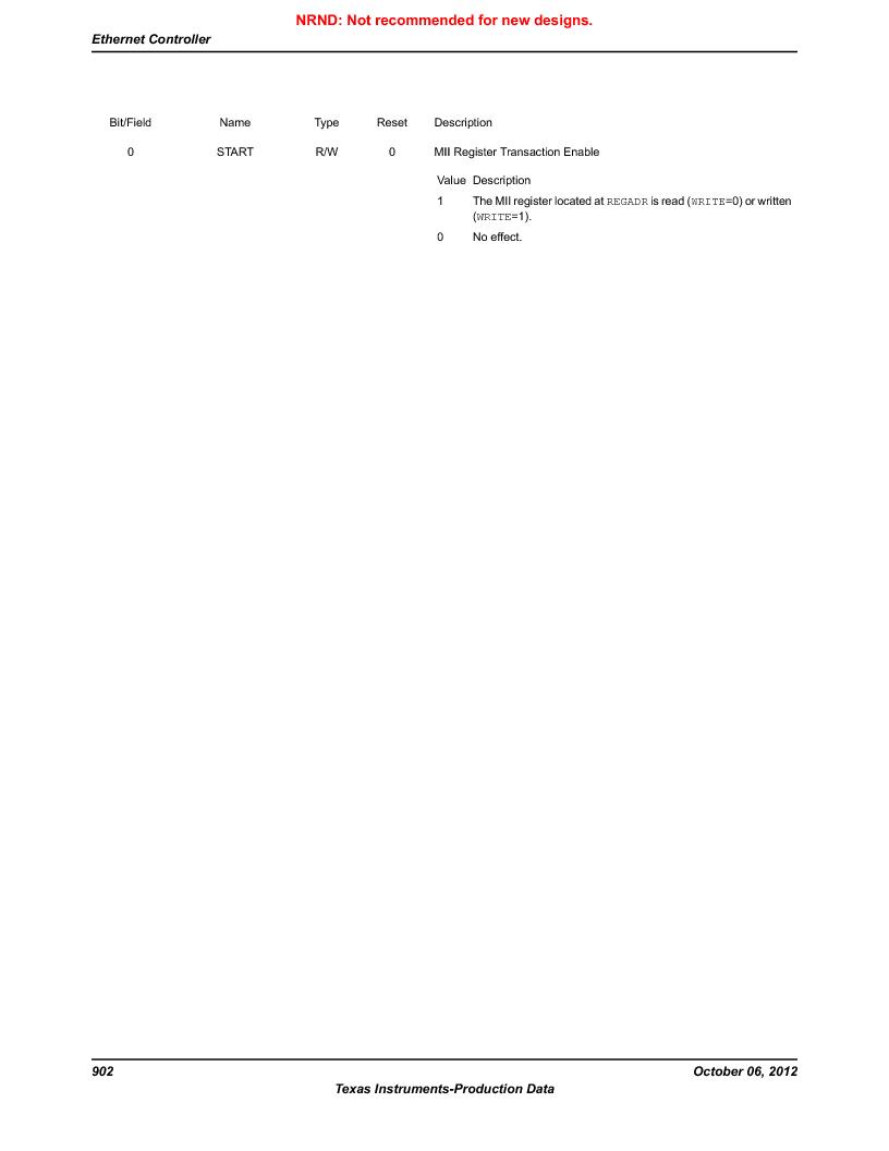 LM3S9G97 ,Texas Instruments厂商,Stellaris LM3S Microcontroller 108-NFBGA -40 to 85, LM3S9G97 datasheet预览  第902页