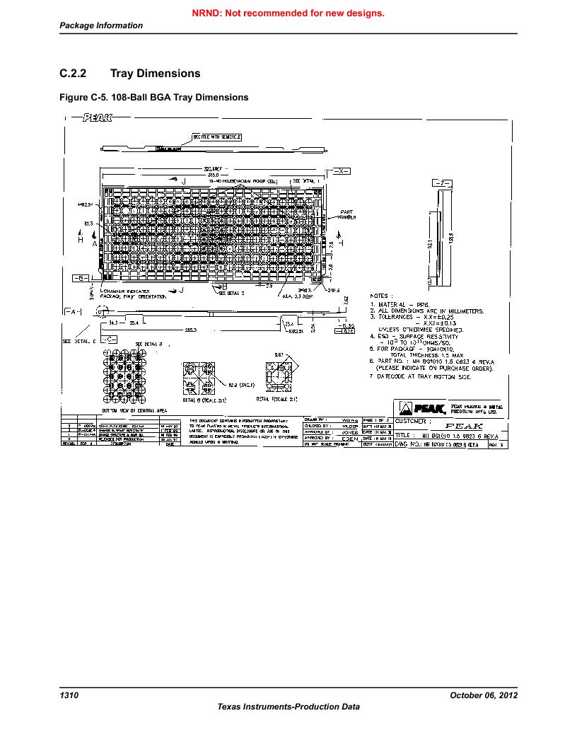 LM3S9U90 ,Texas Instruments厂商,Stellaris LM3S Microcontroller 108-NFBGA -40 to 85, LM3S9U90 datasheet预览  第1310页