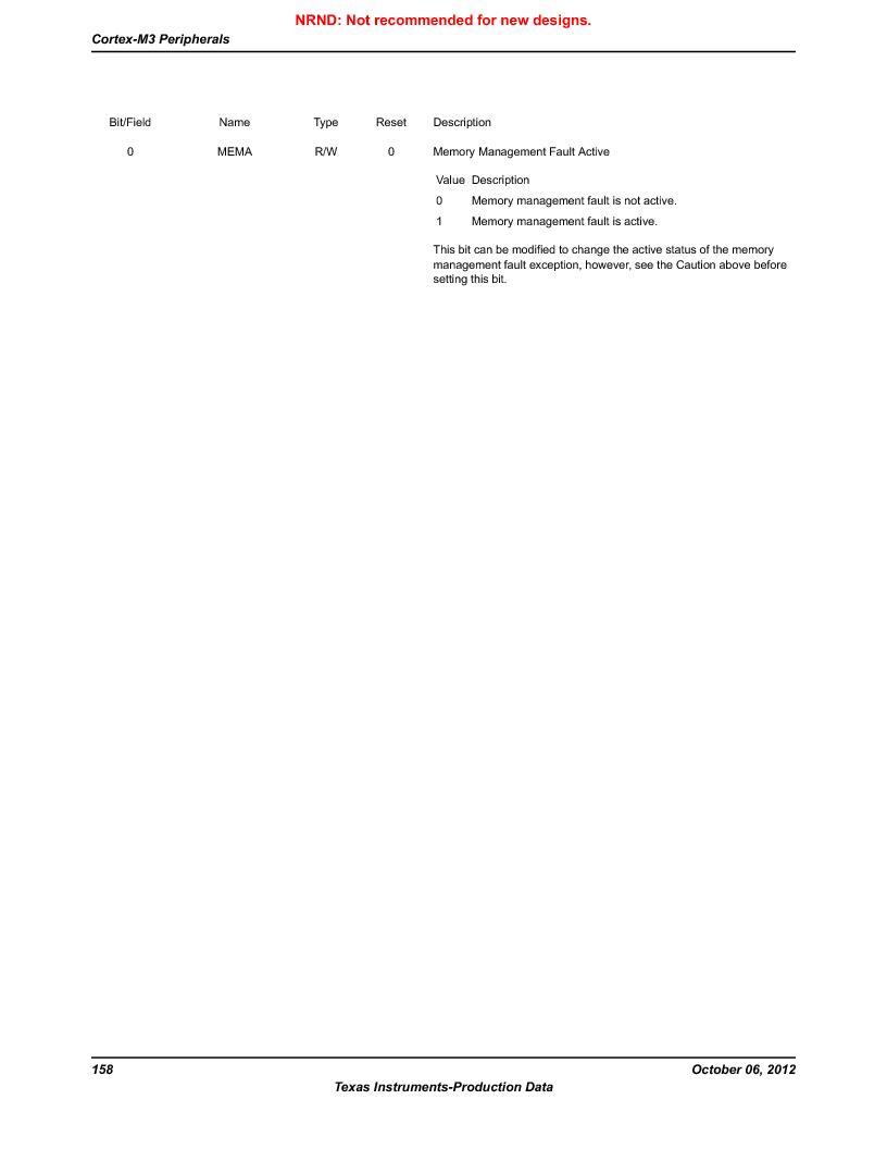 LM3S9U90 ,Texas Instruments厂商,Stellaris LM3S Microcontroller 108-NFBGA -40 to 85, LM3S9U90 datasheet预览  第158页