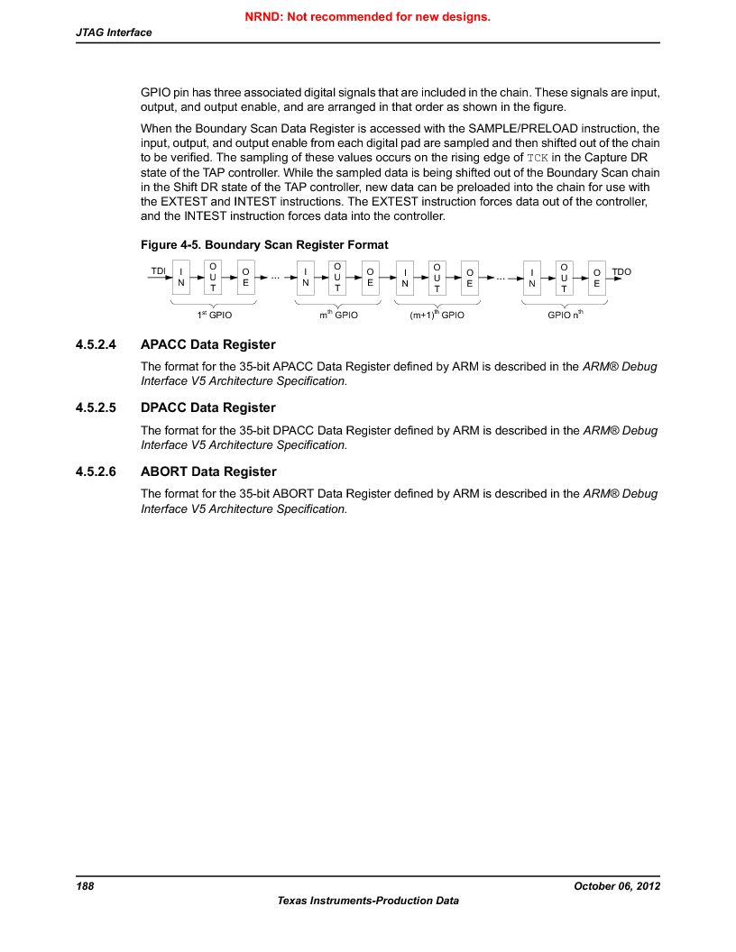 LM3S9U90 ,Texas Instruments厂商,Stellaris LM3S Microcontroller 108-NFBGA -40 to 85, LM3S9U90 datasheet预览  第188页