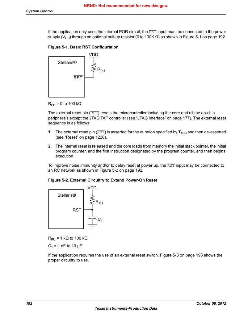 LM3S9U90 ,Texas Instruments厂商,Stellaris LM3S Microcontroller 108-NFBGA -40 to 85, LM3S9U90 datasheet预览  第192页