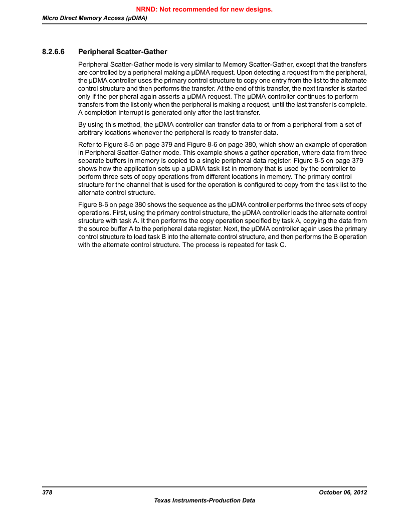 LM3S9U90 ,Texas Instruments厂商,Stellaris LM3S Microcontroller 108-NFBGA -40 to 85, LM3S9U90 datasheet预览  第378页