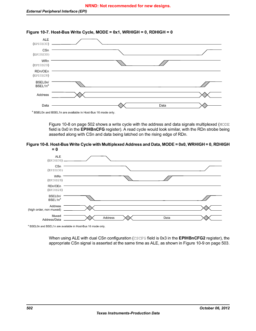 LM3S9U90 ,Texas Instruments厂商,Stellaris LM3S Microcontroller 108-NFBGA -40 to 85, LM3S9U90 datasheet预览  第502页