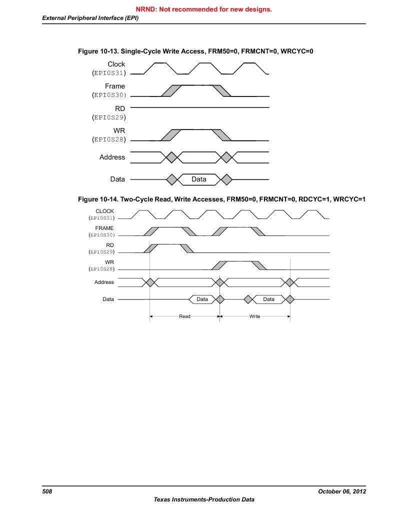 LM3S9U90 ,Texas Instruments厂商,Stellaris LM3S Microcontroller 108-NFBGA -40 to 85, LM3S9U90 datasheet预览  第508页