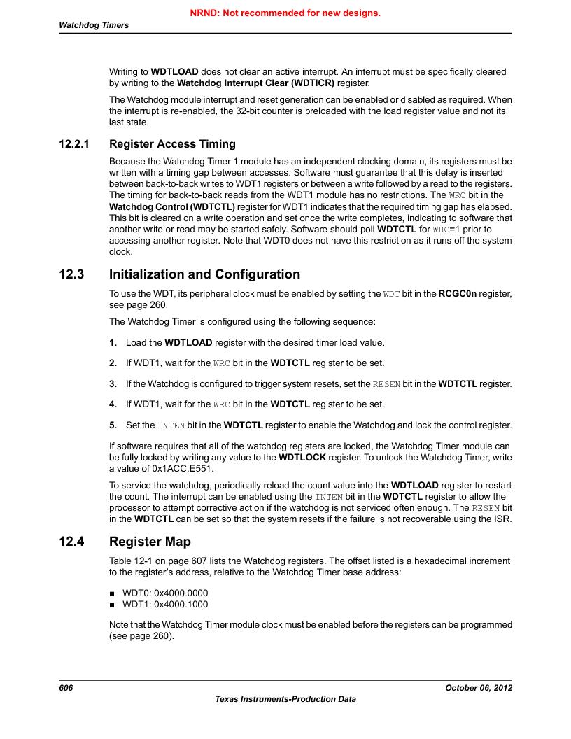 LM3S9U90 ,Texas Instruments厂商,Stellaris LM3S Microcontroller 108-NFBGA -40 to 85, LM3S9U90 datasheet预览  第606页