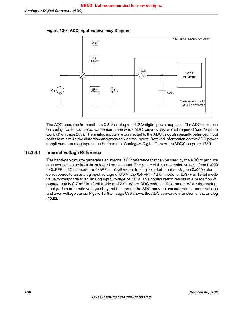 LM3S9U90 ,Texas Instruments厂商,Stellaris LM3S Microcontroller 108-NFBGA -40 to 85, LM3S9U90 datasheet预览  第638页