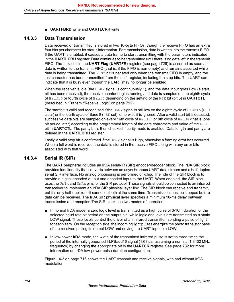 LM3S9U90 ,Texas Instruments厂商,Stellaris LM3S Microcontroller 108-NFBGA -40 to 85, LM3S9U90 datasheet预览  第714页