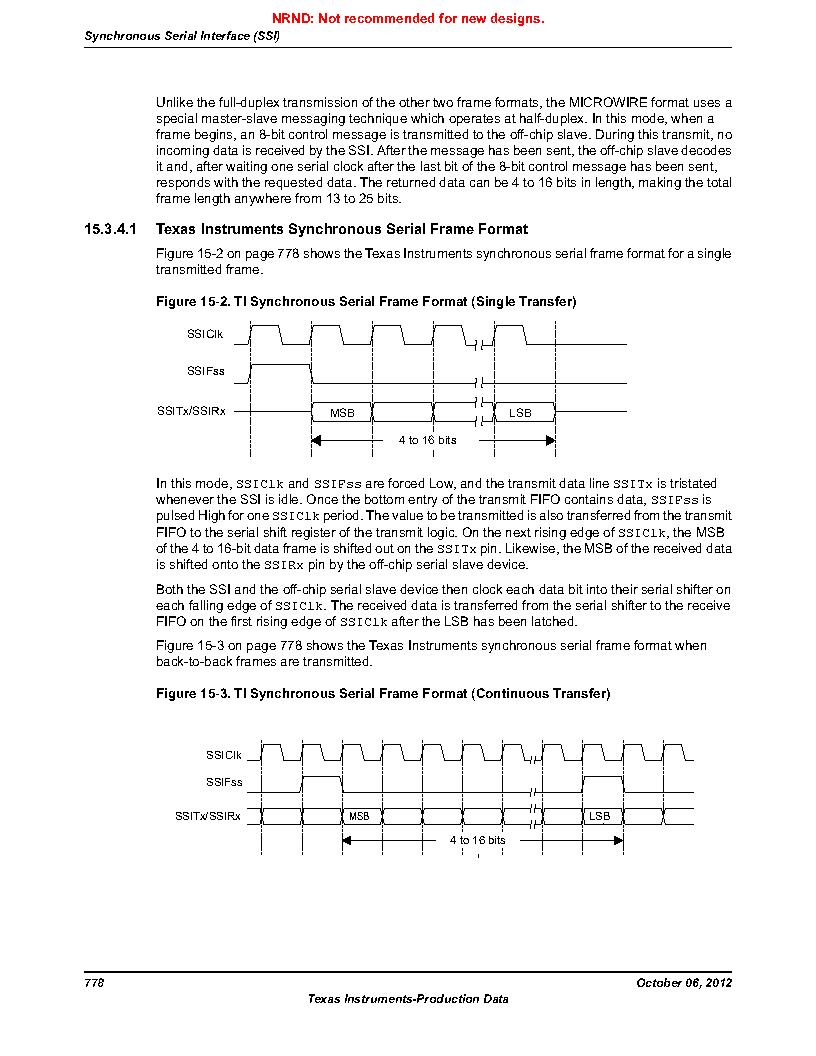 LM3S9U90 ,Texas Instruments厂商,Stellaris LM3S Microcontroller 108-NFBGA -40 to 85, LM3S9U90 datasheet预览  第778页