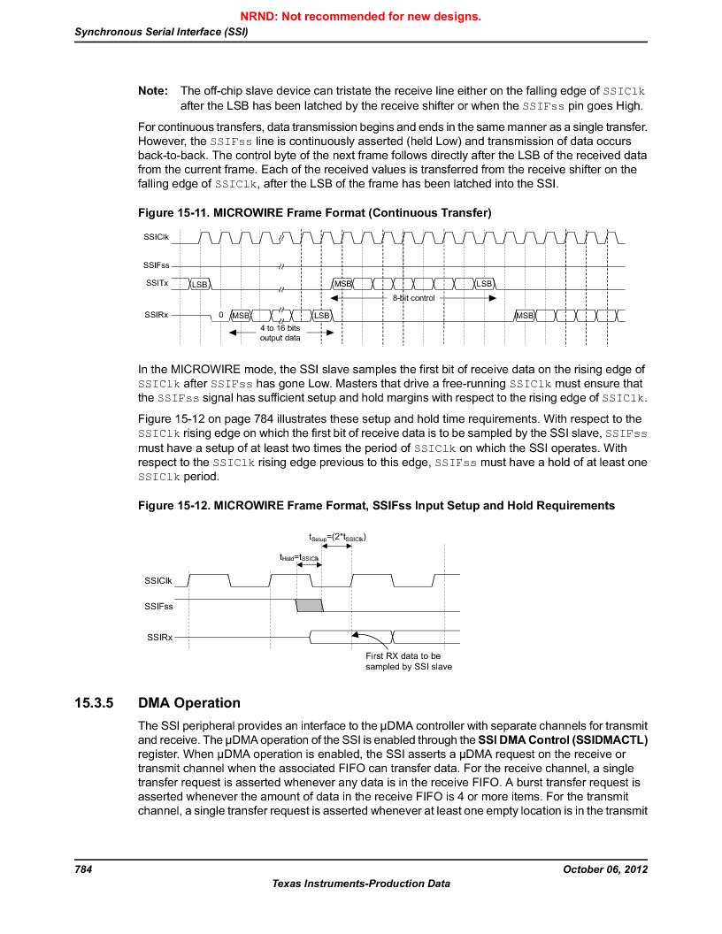 LM3S9U90 ,Texas Instruments厂商,Stellaris LM3S Microcontroller 108-NFBGA -40 to 85, LM3S9U90 datasheet预览  第784页
