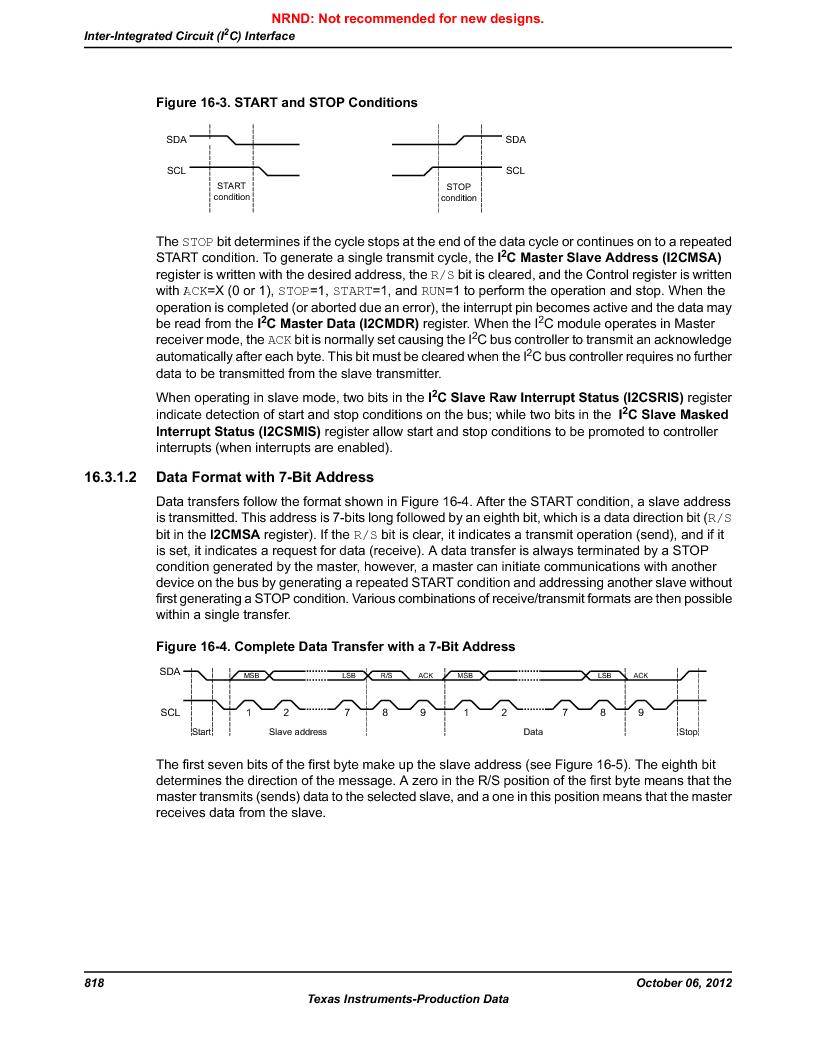LM3S9U90 ,Texas Instruments厂商,Stellaris LM3S Microcontroller 108-NFBGA -40 to 85, LM3S9U90 datasheet预览  第818页