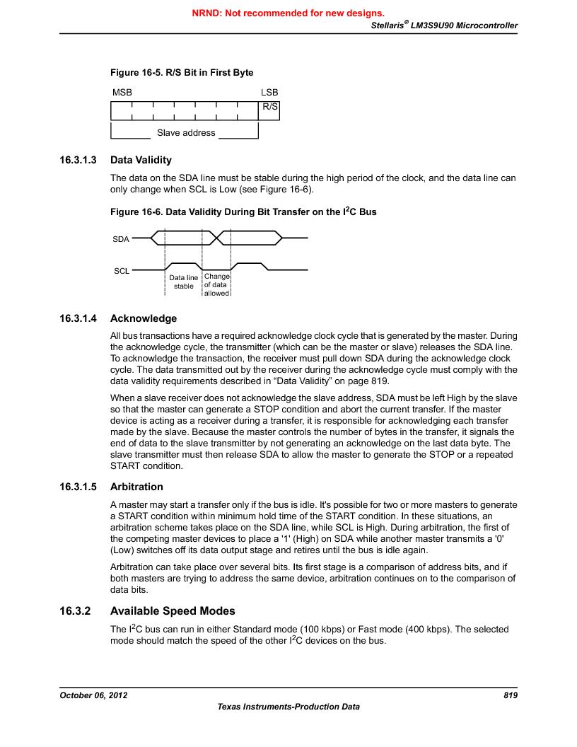 LM3S9U90 ,Texas Instruments厂商,Stellaris LM3S Microcontroller 108-NFBGA -40 to 85, LM3S9U90 datasheet预览  第819页