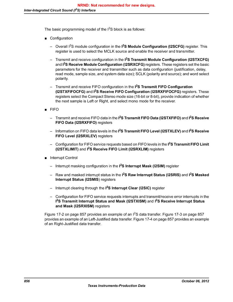 LM3S9U90 ,Texas Instruments厂商,Stellaris LM3S Microcontroller 108-NFBGA -40 to 85, LM3S9U90 datasheet预览  第856页