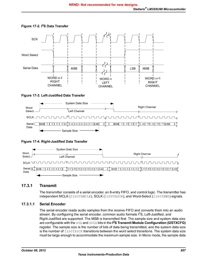LM3S9U90 ,Texas Instruments厂商,Stellaris LM3S Microcontroller 108-NFBGA -40 to 85, LM3S9U90 datasheet预览  第857页