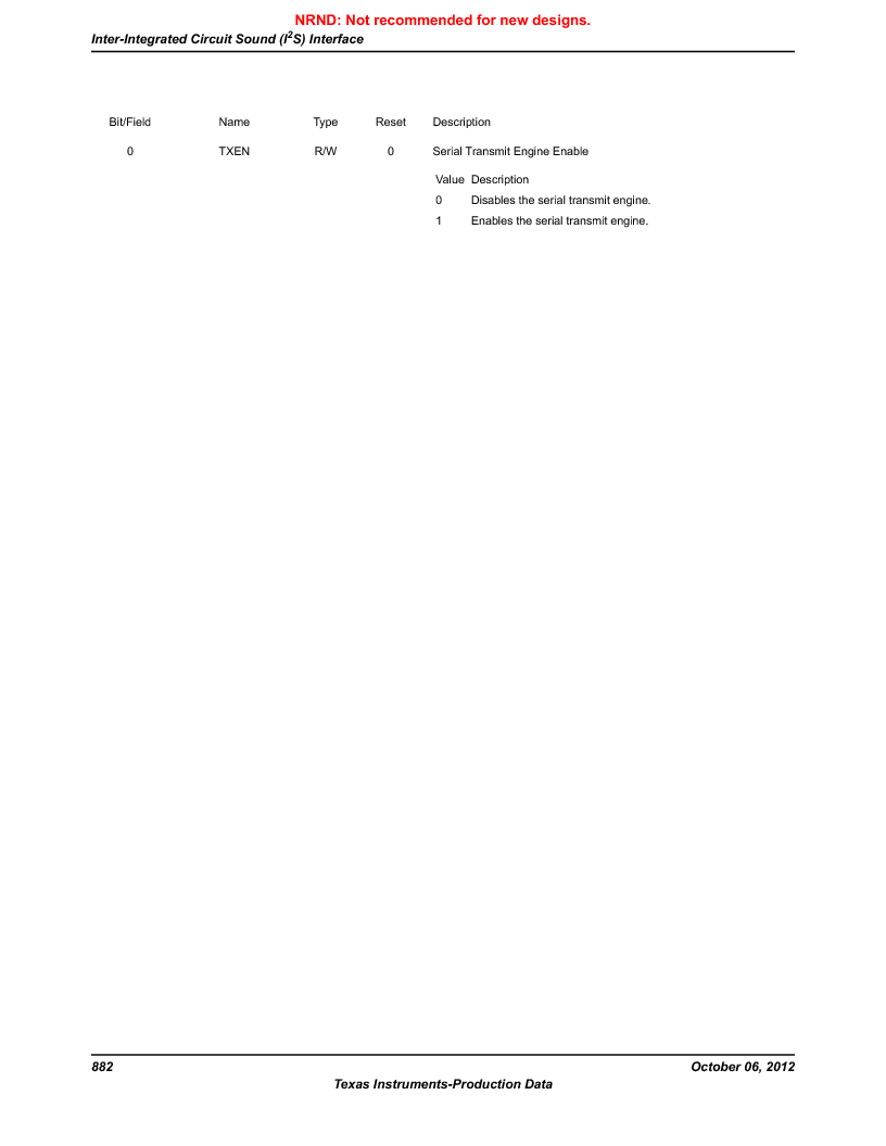 LM3S9U90 ,Texas Instruments厂商,Stellaris LM3S Microcontroller 108-NFBGA -40 to 85, LM3S9U90 datasheet预览  第882页