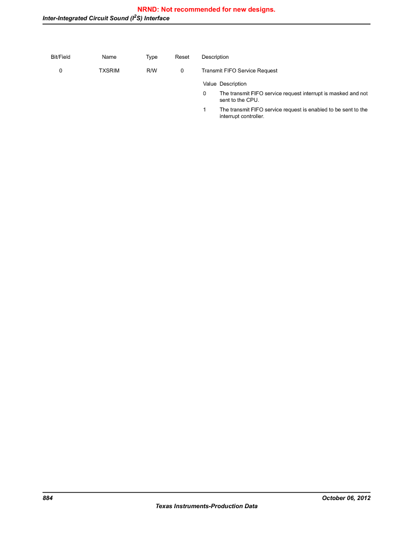 LM3S9U90 ,Texas Instruments厂商,Stellaris LM3S Microcontroller 108-NFBGA -40 to 85, LM3S9U90 datasheet预览  第884页