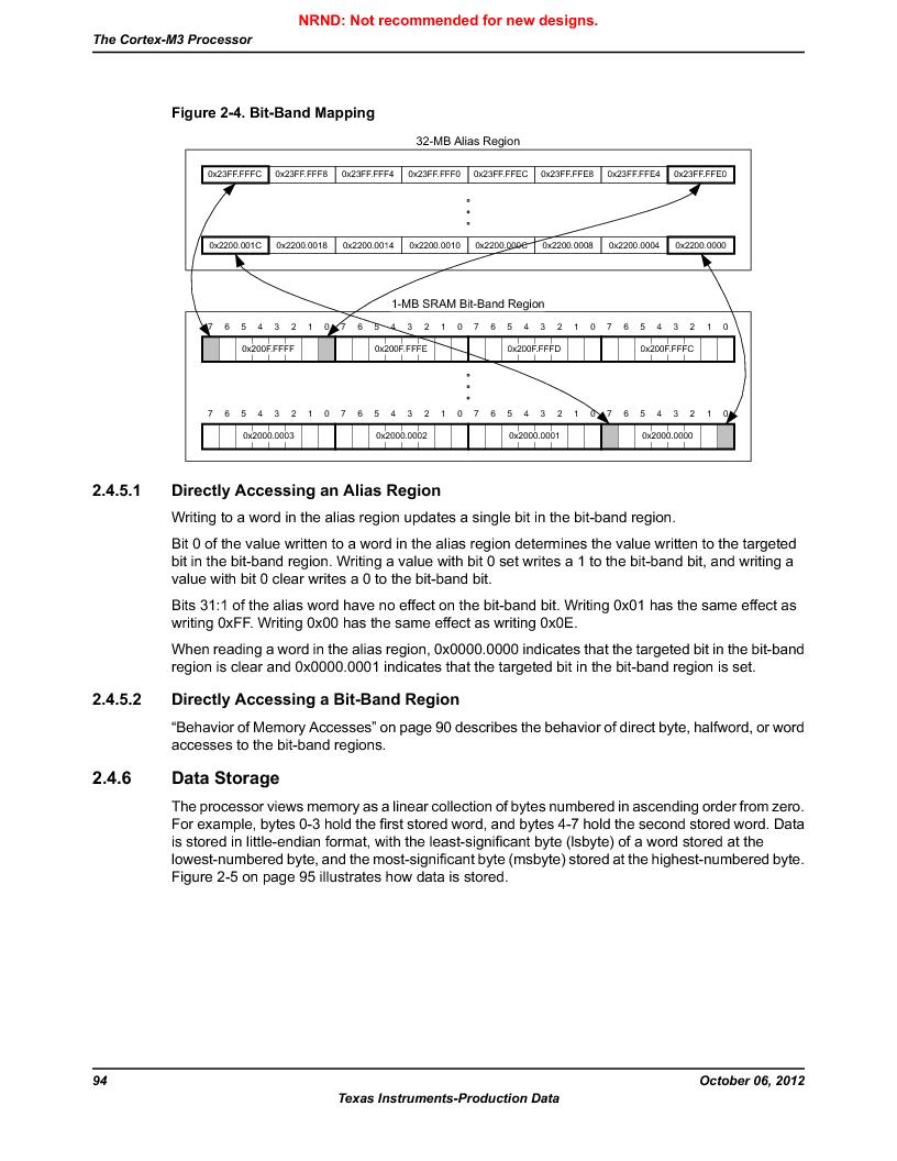 LM3S9U90 ,Texas Instruments厂商,Stellaris LM3S Microcontroller 108-NFBGA -40 to 85, LM3S9U90 datasheet预览  第94页