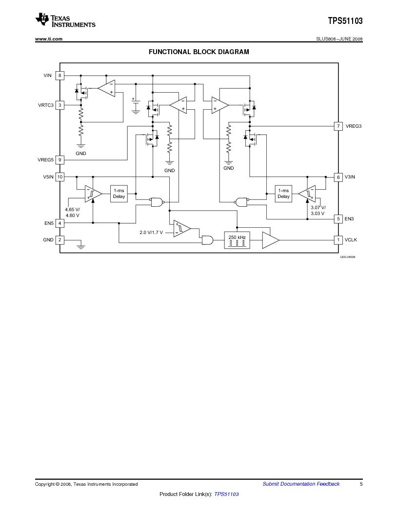 tps51103drctpdf下载texasinstruments厂商data—