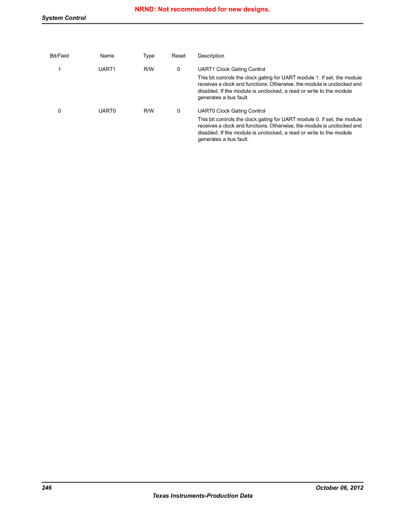LM3S1W16-IQR50-C5 ,Texas Instruments厂商,Stellaris LM3S Microcontroller 64-LQFP -40 to 85, LM3S1W16-IQR50-C5 datasheet预览  第246页
