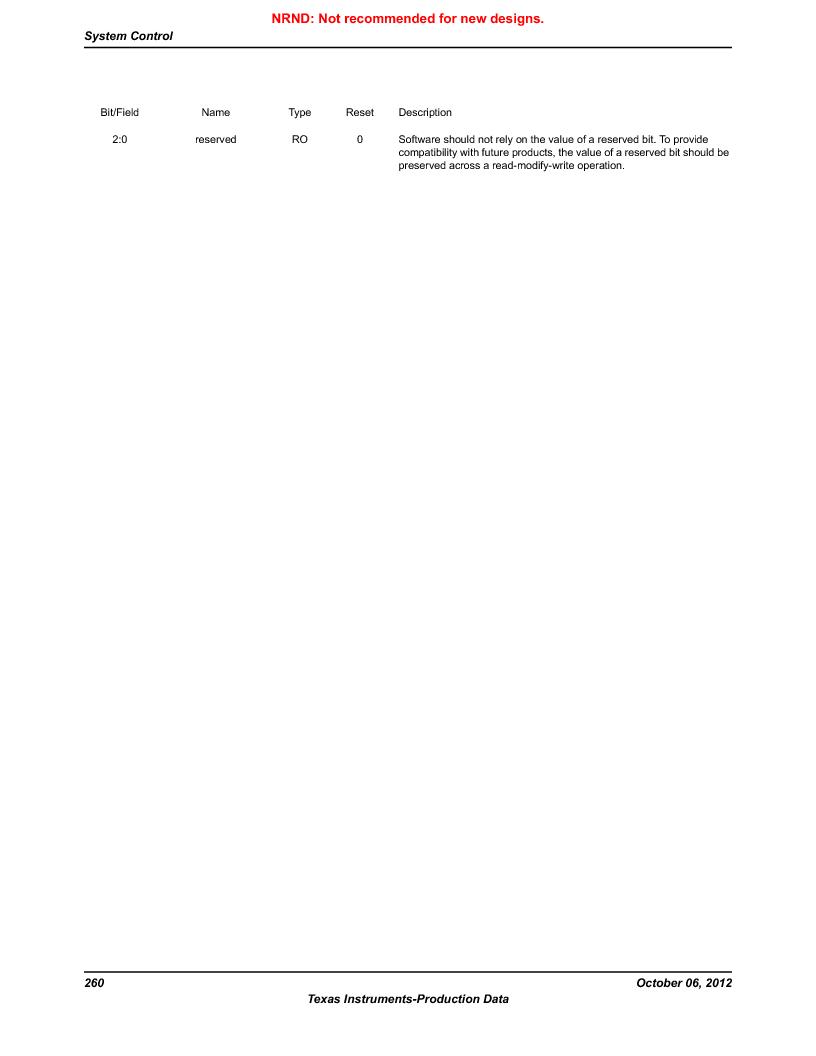LM3S1W16-IQR50-C5 ,Texas Instruments厂商,Stellaris LM3S Microcontroller 64-LQFP -40 to 85, LM3S1W16-IQR50-C5 datasheet预览  第260页