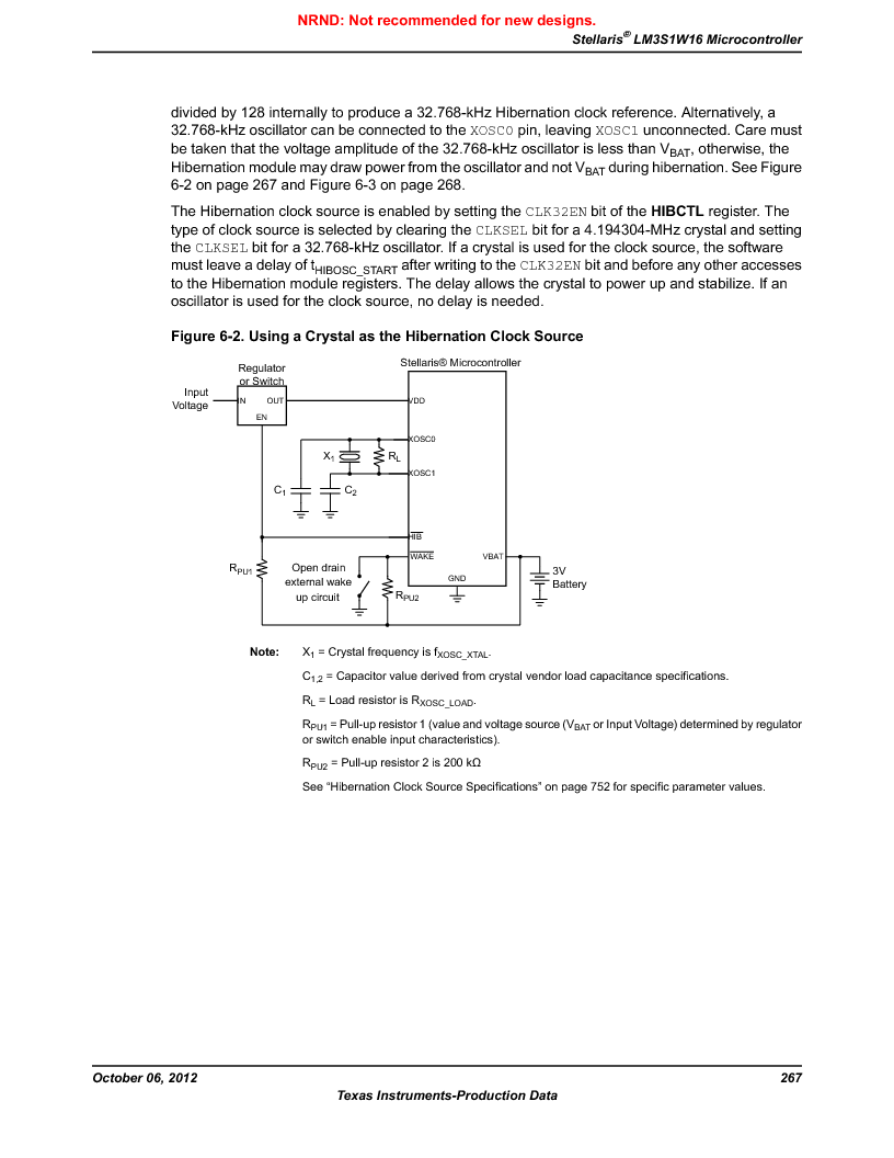 LM3S1W16-IQR50-C5 ,Texas Instruments厂商,Stellaris LM3S Microcontroller 64-LQFP -40 to 85, LM3S1W16-IQR50-C5 datasheet预览  第267页
