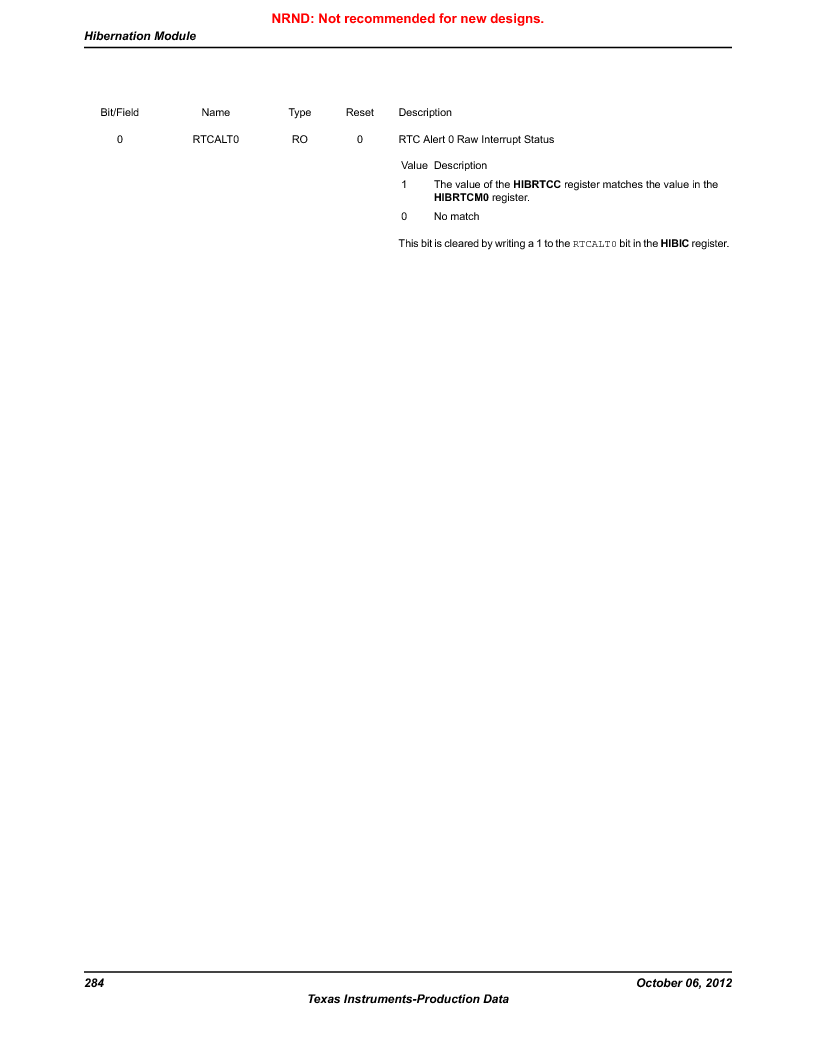 LM3S1W16-IQR50-C5 ,Texas Instruments厂商,Stellaris LM3S Microcontroller 64-LQFP -40 to 85, LM3S1W16-IQR50-C5 datasheet预览  第284页