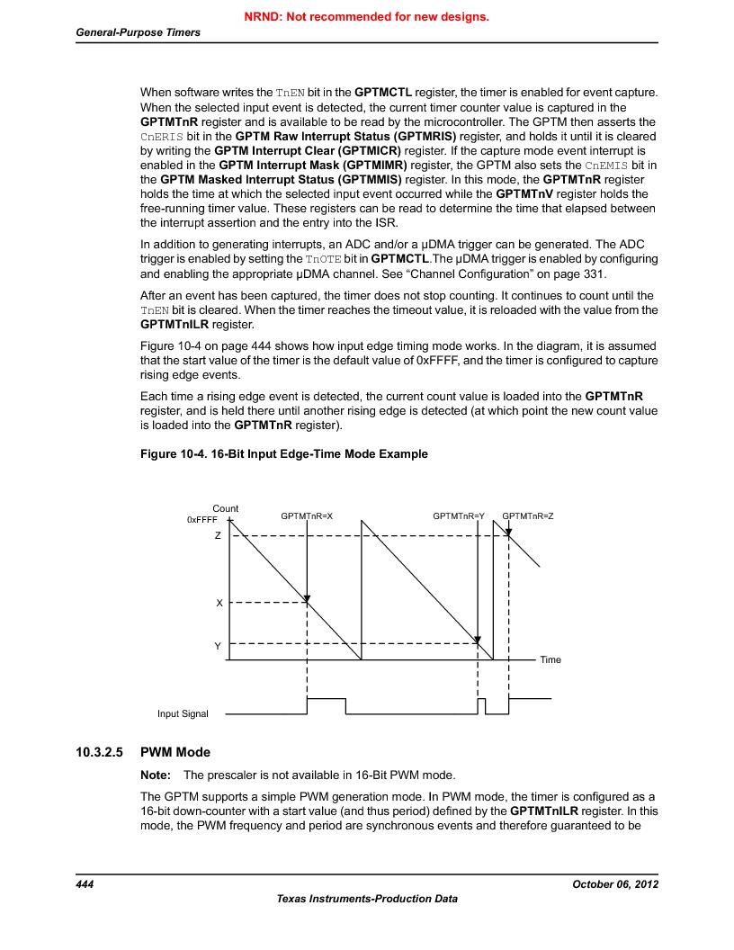 LM3S1W16-IQR50-C5 ,Texas Instruments厂商,Stellaris LM3S Microcontroller 64-LQFP -40 to 85, LM3S1W16-IQR50-C5 datasheet预览  第444页