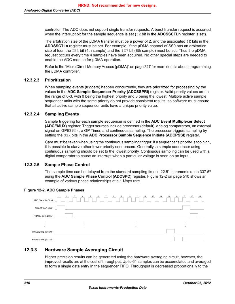 LM3S1W16-IQR50-C5 ,Texas Instruments厂商,Stellaris LM3S Microcontroller 64-LQFP -40 to 85, LM3S1W16-IQR50-C5 datasheet预览  第510页