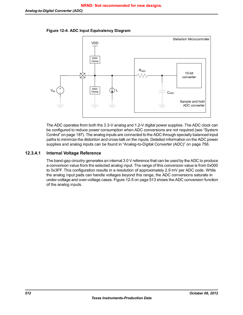 LM3S1W16-IQR50-C5 ,Texas Instruments厂商,Stellaris LM3S Microcontroller 64-LQFP -40 to 85, LM3S1W16-IQR50-C5 datasheet预览  第512页