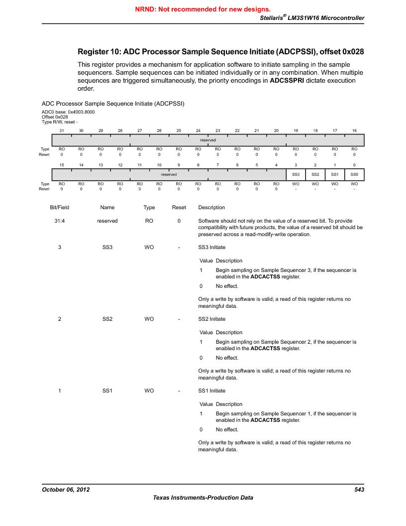 LM3S1W16-IQR50-C5 ,Texas Instruments厂商,Stellaris LM3S Microcontroller 64-LQFP -40 to 85, LM3S1W16-IQR50-C5 datasheet预览  第543页