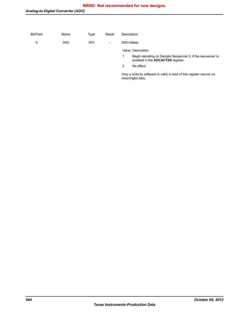 LM3S1W16-IQR50-C5 ,Texas Instruments厂商,Stellaris LM3S Microcontroller 64-LQFP -40 to 85, LM3S1W16-IQR50-C5 datasheet预览  第544页