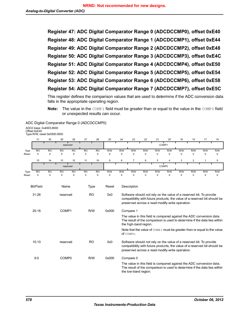 LM3S1W16-IQR50-C5 ,Texas Instruments厂商,Stellaris LM3S Microcontroller 64-LQFP -40 to 85, LM3S1W16-IQR50-C5 datasheet预览  第578页