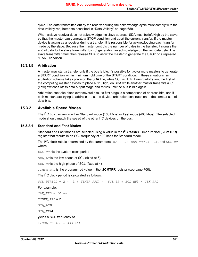 LM3S1W16-IQR50-C5 ,Texas Instruments厂商,Stellaris LM3S Microcontroller 64-LQFP -40 to 85, LM3S1W16-IQR50-C5 datasheet预览  第681页
