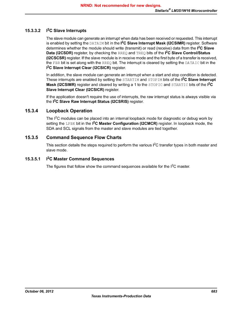 LM3S1W16-IQR50-C5 ,Texas Instruments厂商,Stellaris LM3S Microcontroller 64-LQFP -40 to 85, LM3S1W16-IQR50-C5 datasheet预览  第683页