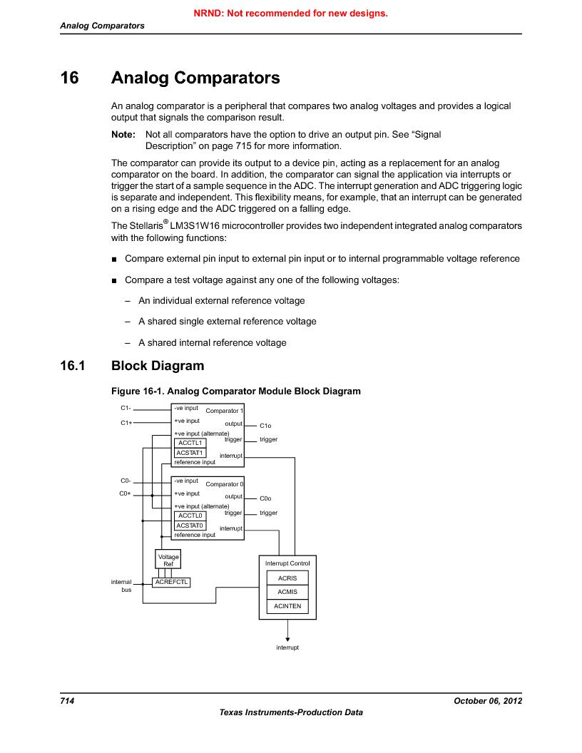 LM3S1W16-IQR50-C5 ,Texas Instruments厂商,Stellaris LM3S Microcontroller 64-LQFP -40 to 85, LM3S1W16-IQR50-C5 datasheet预览  第714页