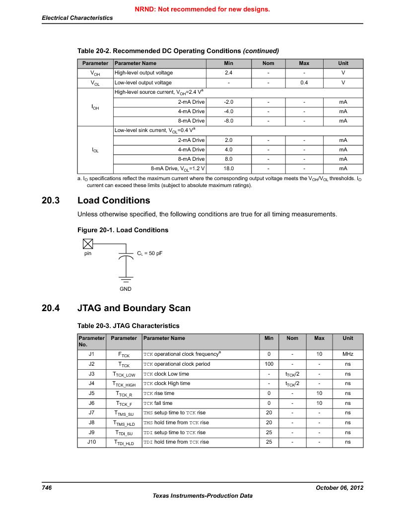 LM3S1W16-IQR50-C5 ,Texas Instruments厂商,Stellaris LM3S Microcontroller 64-LQFP -40 to 85, LM3S1W16-IQR50-C5 datasheet预览  第746页