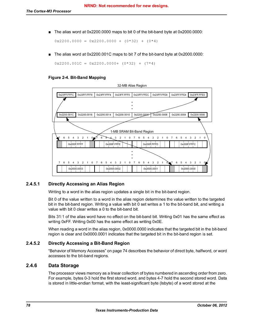 LM3S1W16-IQR50-C5 ,Texas Instruments厂商,Stellaris LM3S Microcontroller 64-LQFP -40 to 85, LM3S1W16-IQR50-C5 datasheet预览  第78页