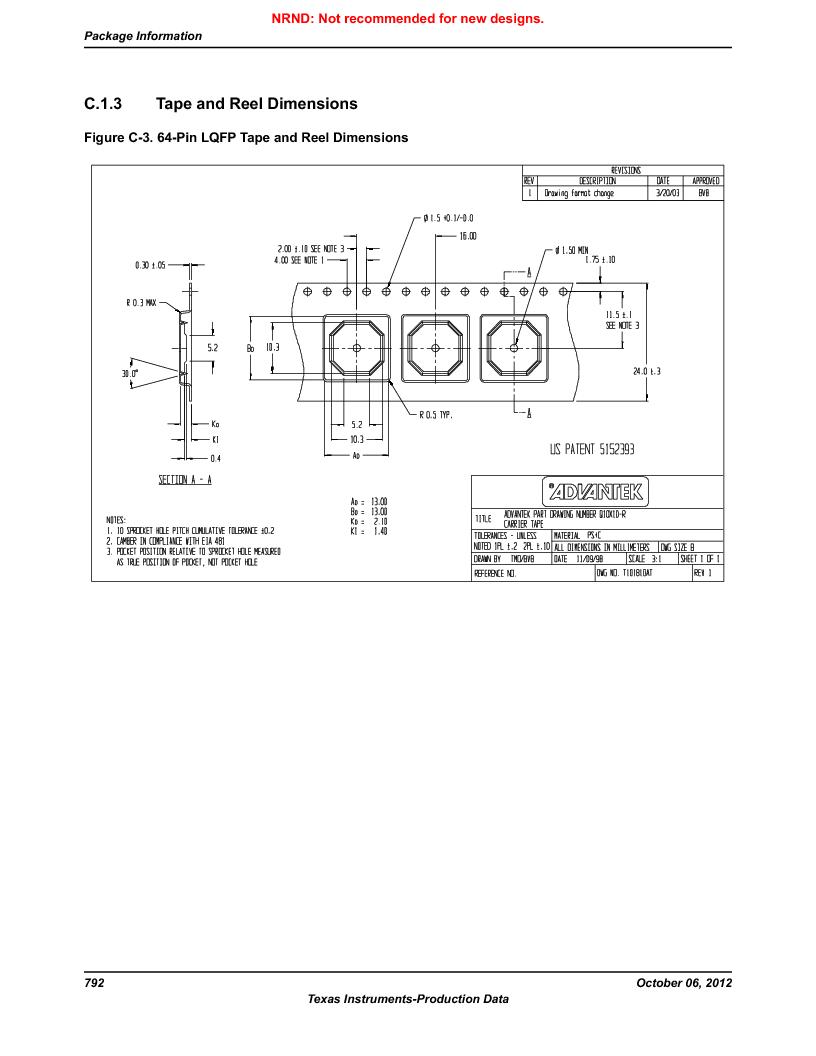 LM3S1W16-IQR50-C5 ,Texas Instruments厂商,Stellaris LM3S Microcontroller 64-LQFP -40 to 85, LM3S1W16-IQR50-C5 datasheet预览  第792页