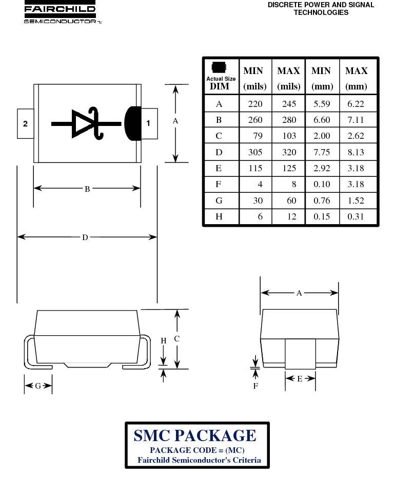 MBRS340 ,Fairchild Semiconductor厂商,DIODE SCHOTTKY 40V 4A SMC, MBRS340 datasheet预览  第3页